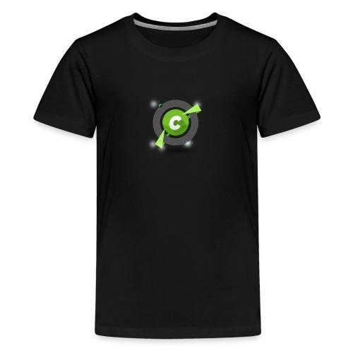logo becurious png - Maglietta Premium per ragazzi