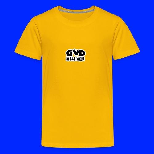 GVD ik lag weer - Teenager Premium T-shirt