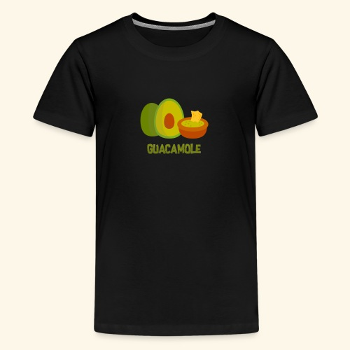 Guacamol1e - Premium-T-shirt tonåring