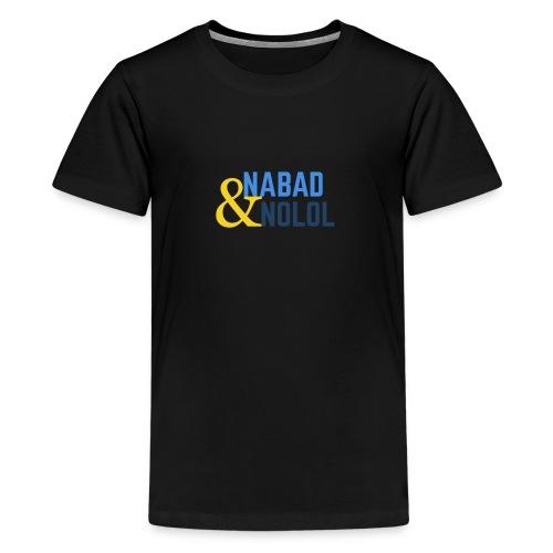 Nabad iyo nolol - Premium-T-shirt tonåring