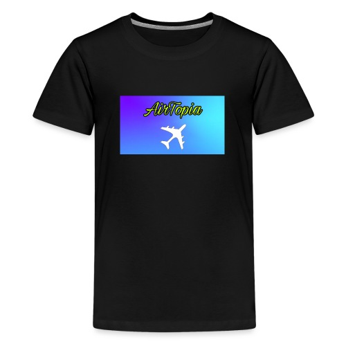 Knuffelbeer Met Logo - Teenager Premium T-shirt