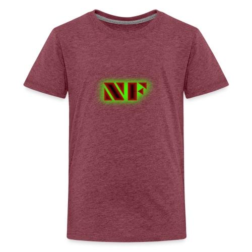 My Logo - Premium T-skjorte for tenåringer