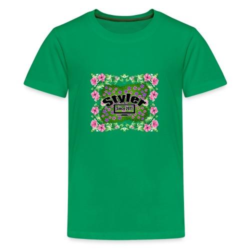 Styler Bloemen Design - Teenager Premium T-shirt
