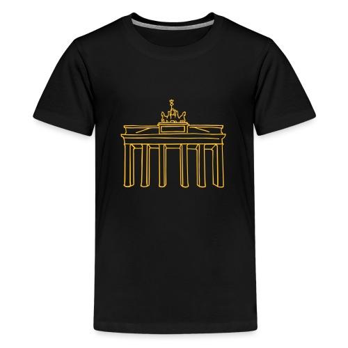 Porta di Brandeburgo a Berlino - Maglietta Premium per ragazzi