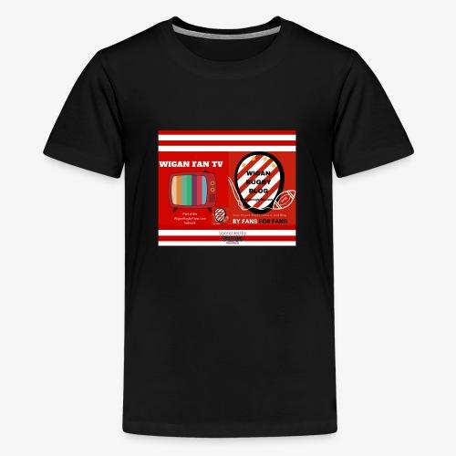 Sponsored by Logo - Teenage Premium T-Shirt