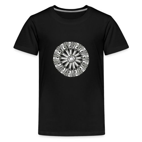 zuiger rol - Teenager Premium T-shirt