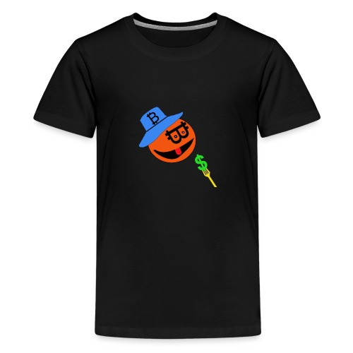 Eat dollar BY BITCOIN - Teenager Premium T-shirt