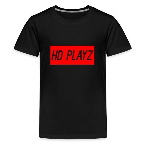HD Playz DESIGN - Premium T-skjorte for tenåringer