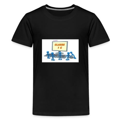 i love - Maglietta Premium per ragazzi