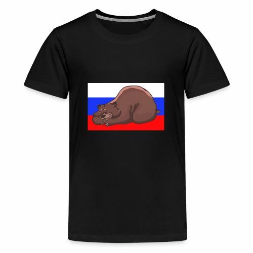 Russian Bear - Teenager Premium T-Shirt