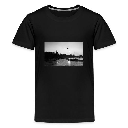 heimatverliebt. Dresden - Teenager Premium T-Shirt