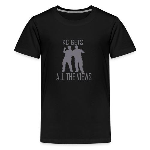 KC Gets All The Views - Teenage Premium T-Shirt