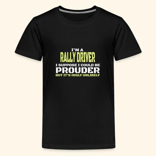 RALLY - Maglietta Premium per ragazzi