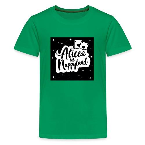 Alice in Nappyland 1 - Teenage Premium T-Shirt