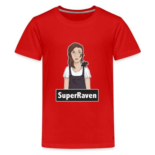 SuperRaven - Teenage Premium T-Shirt