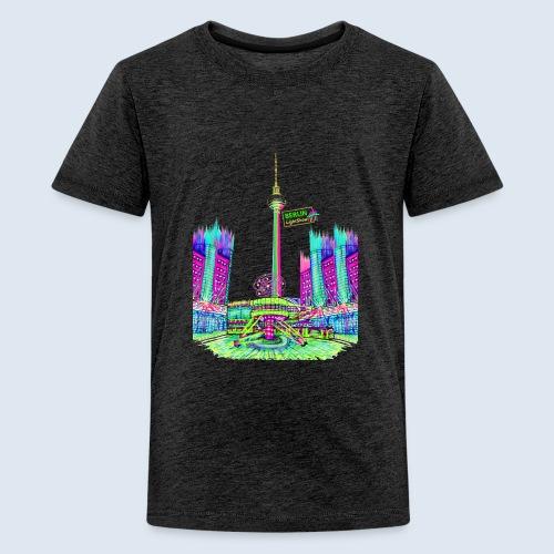 Berlin Alexanderplatz / BerlinLightShow /PopArt - Teenager Premium T-Shirt