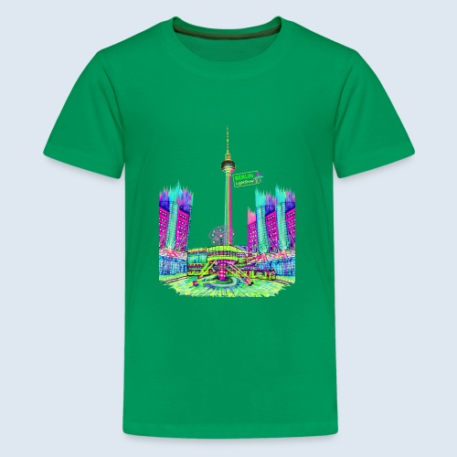 "Berliner Original ""Alexanderplatz"" PopArt Design - Teenager Premium T-Shirt"