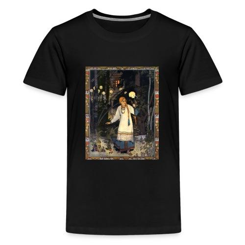 VasilisaVivid Retro - Vasilisa - Teenager Premium T-Shirt
