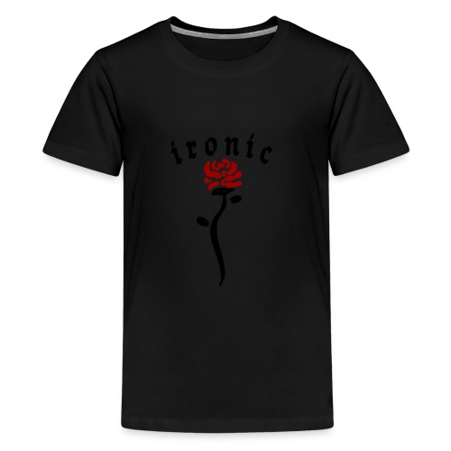 Ironic Rose - Teenager premium T-shirt