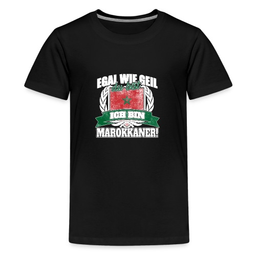 Bist du stolz Marokkanerin zu sein? Dann ist diese - Teenager Premium T-Shirt