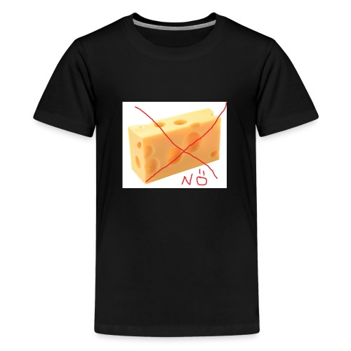Käse Löcher jpg - Teenager Premium T-Shirt