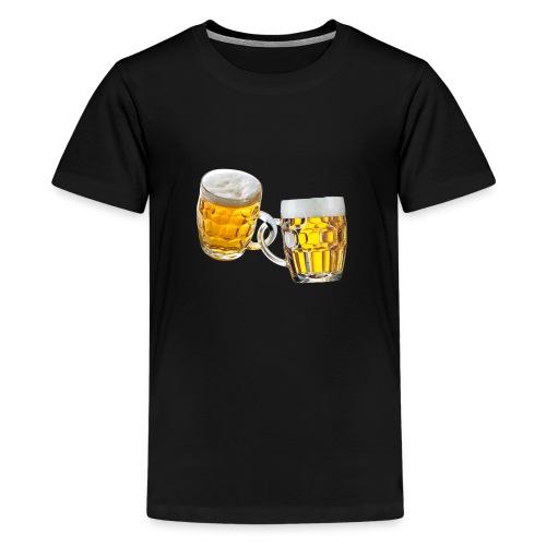 Boccali di birra - Maglietta Premium per ragazzi