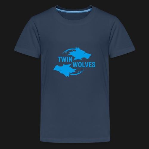 Twin Wolves Studio - Maglietta Premium per ragazzi