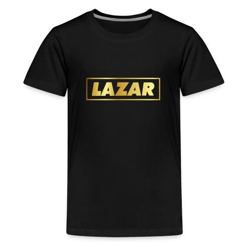 00397 Lazar dorado - Camiseta premium adolescente