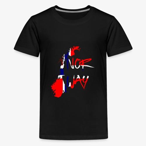 Norway Norwegen - Teenager Premium T-Shirt