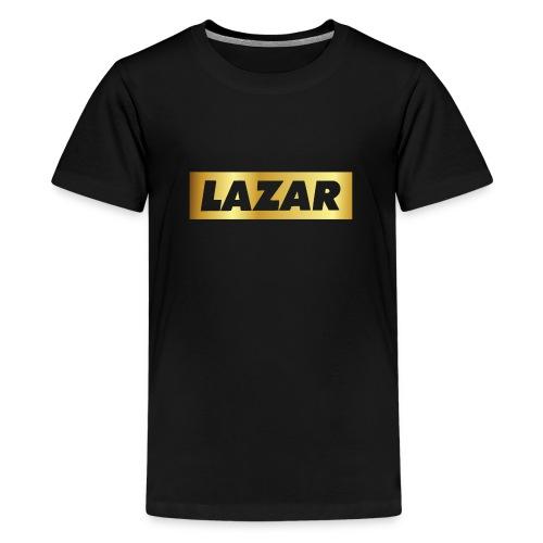 00396 Lazar dorado - Camiseta premium adolescente