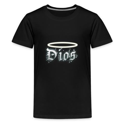 Dios - Camiseta premium adolescente