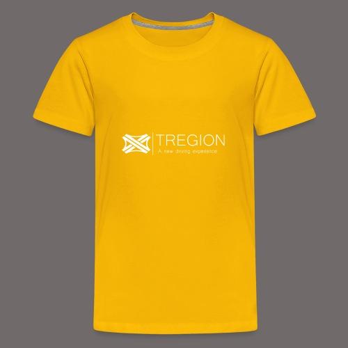 Tregion Logo wide - Teenage Premium T-Shirt