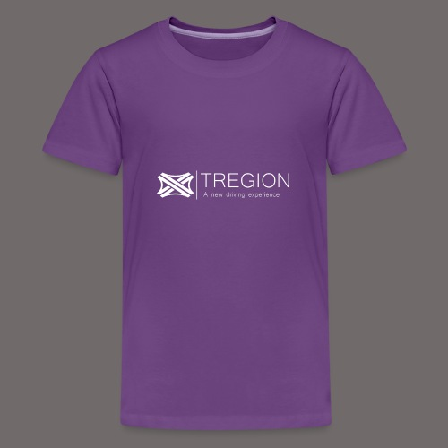 Tregion Logo wide - Teenage Premium T-Shirt
