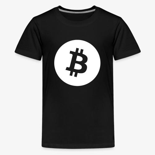 HODL-btcbig-w - Teenage Premium T-Shirt