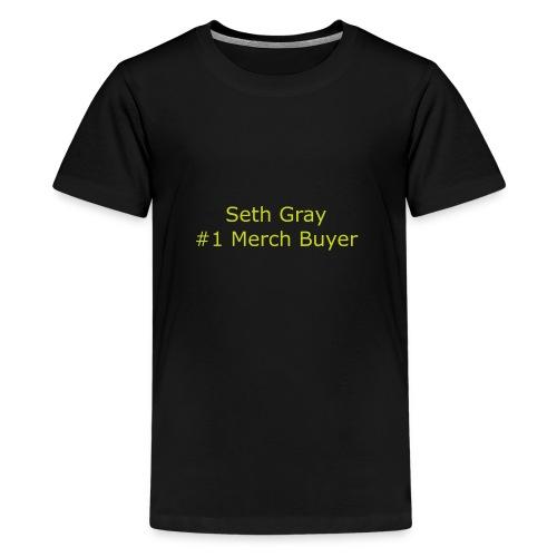 First Merch Buyer - Teenage Premium T-Shirt