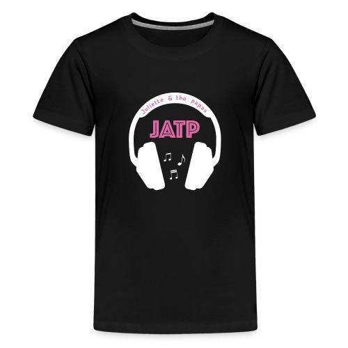 CASQUE AUDIO BLANC - T-shirt Premium Ado