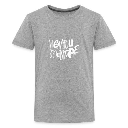 MENFOUMENTAPE (blanc sans contours) by Alice Kara - T-shirt Premium Ado