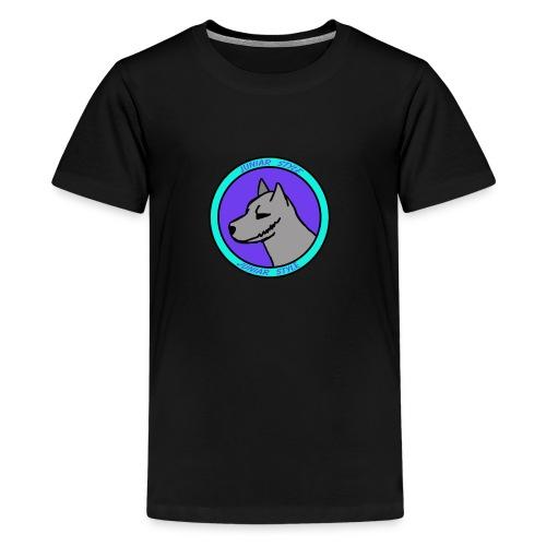 Wolf przerobka team Blues7 - Koszulka młodzieżowa Premium