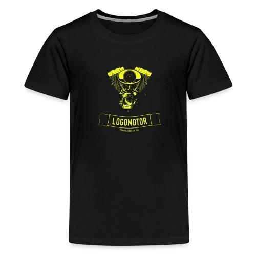 logomotor logo - Teenager Premium T-Shirt