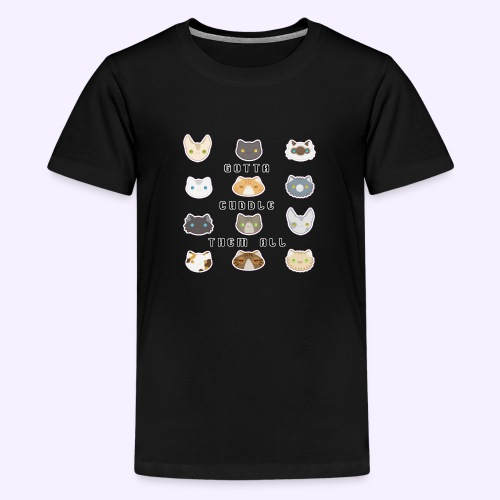 All the Cats - Maglietta Premium per ragazzi