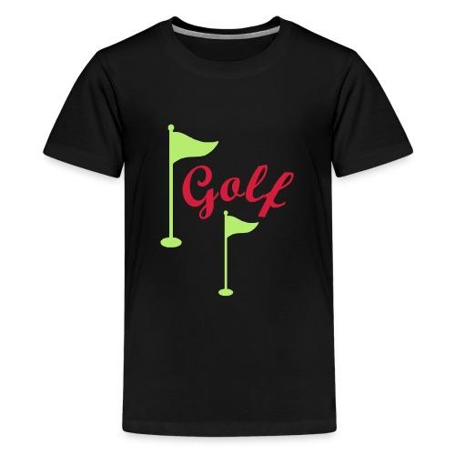 Golf - Teenager Premium T-Shirt