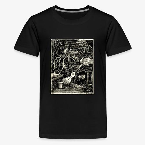 Garden of madness - Teenage Premium T-Shirt