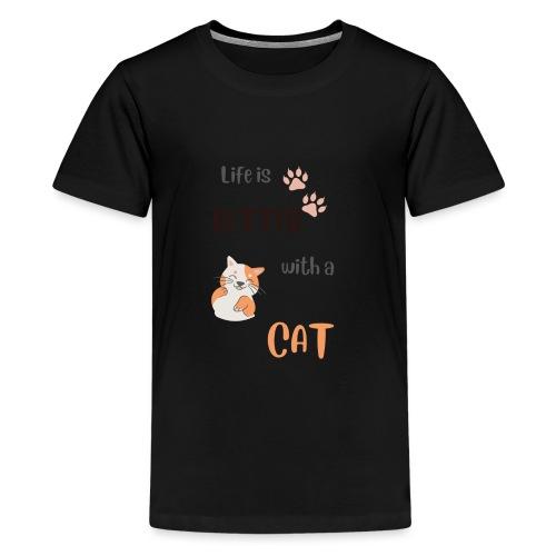 cat lovers - Teenager premium T-shirt