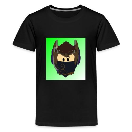 AN1MAYTRZ logo - Teenage Premium T-Shirt