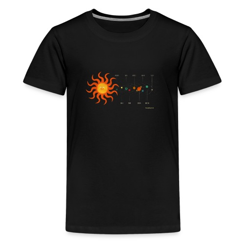 Solar System - Teenage Premium T-Shirt