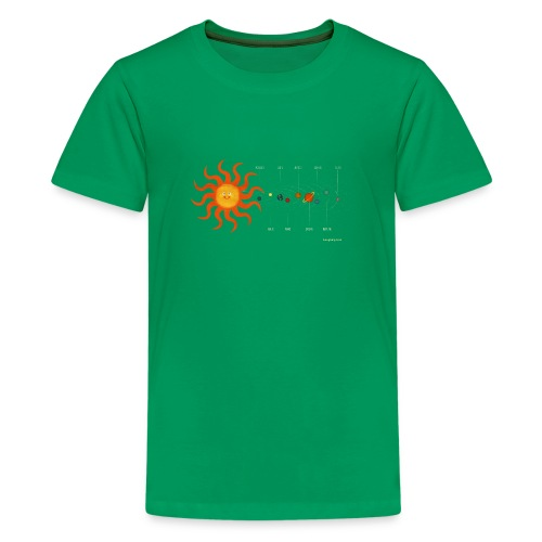 Solar System - Teenage Premium T-Shirt