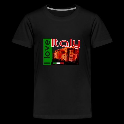 I love Italy! Trikolore - Teenager Premium T-Shirt