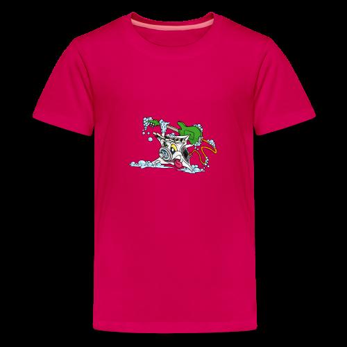 Wicked Washing Machine Wasmachine - Teenager Premium T-shirt