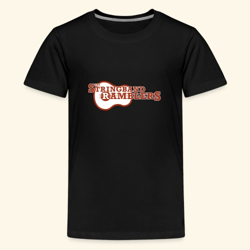 Stringband Ramblers Official Logo - Teenager Premium T-Shirt
