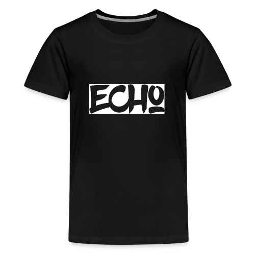 Echo_White_Design - Teenager Premium T-Shirt